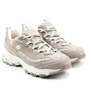 Skechers D'lites interlude beige sneakers